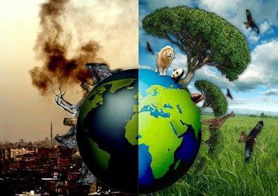 Да помогнем на планетата Земя да диша - голяма снимка