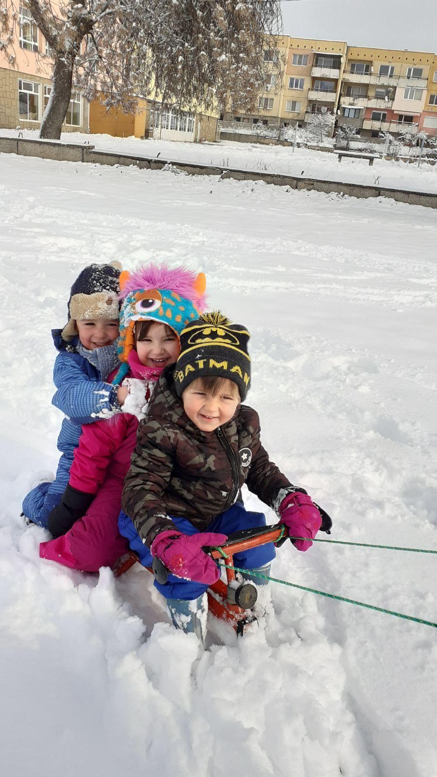 Снежни игри - голяма снимка