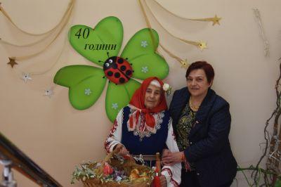 """Баба Марта в Разновъзрастова група """"Бърборани""""2021 - ДГ Детелина - Драговищица"""